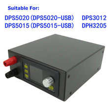 DPS3003 Voeding Shell DPS3005 DP20V2A Zwart Kit Module Voor DP50V5A DPS5020 DPS3012 DPH3205 DPS5005 DP30V5A(China)