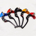 Custom made Quality CNC 8 color 22mm universal Moto motorcycle e-bike left Rope Pulling Line Cable clutch levers free shipping