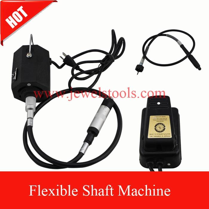 ФОТО Black Octagonal Flexible Shaft Machine ,goldsmith tools,polishing flexible shaft machine,hanging rotary tool motor