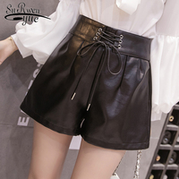 2018 Autumn and winter super fire women's short pants with high waist straight women fashion close fitting style pants 1900 50