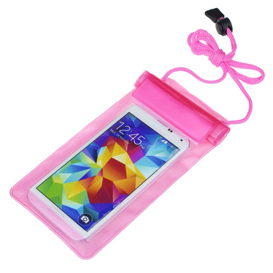 RA8 HL 1PC Travel Swimming Waterproof Bag Case Cover for 5.5 inch Cell Phone May25E22 Сотовый телефон