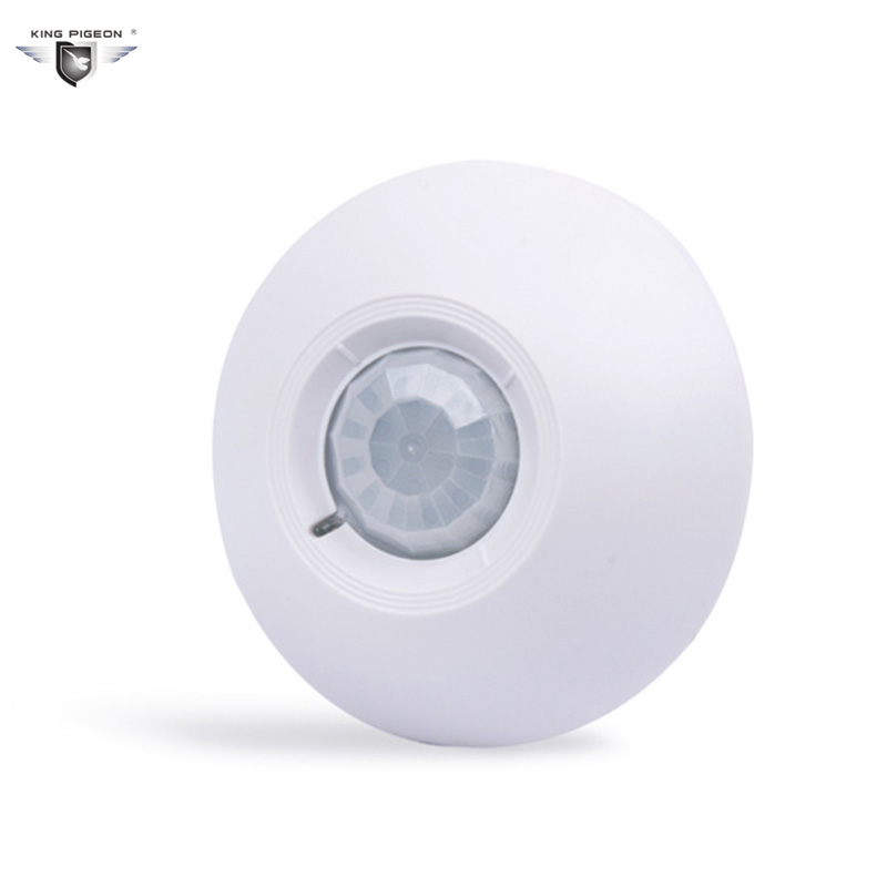 Free shipping  PIR Motion Sensor alarm Security Detector Wireless Ceiling can work with GSM home alarm system(6pcs CPIR-100B) кронштейн kromax atlantis 35 для телевизора 26 65 до 60кг серый