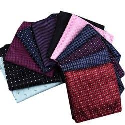 Мужской Шелковый платок носовой платок человек Пейсли Цветочные жаккард платок 22*22 см для бизнеса свадьба