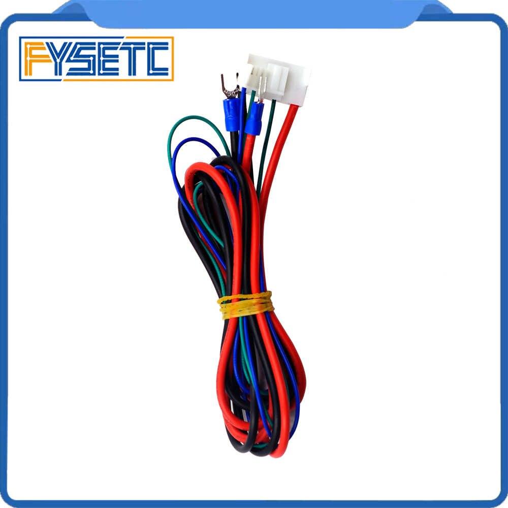 2 Buah Mengganti Anet A6/A8 Sarang Tempat Tidur Line/Kabel Upgrade MK2A/MK2B/MK3 untuk Mendel i3 Anet A8 3d Printer Ranjang Hangat Kabel
