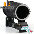 Children's Day And Mother Father's Day Gift Mount Macro Extension Bellows work For C anon E OS EF Black aluminum