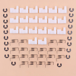 20pcs/lot Chainsaw Flywheel Starter Pawl Dog Kit For Chinese 4500 5200 5800 Zenoah Chainsaw 43CC 45CC 52CC 58CC