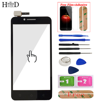 Mobile Touch Screen For Lenovo Vibe C A2020 A2020a40 Touch Screen Digitizer Panel Front Glass + Screen Protector mobile touch screen panel sensor for lenovo a916 a 916 touch screen front glass digitizer panel replacement parts protector film