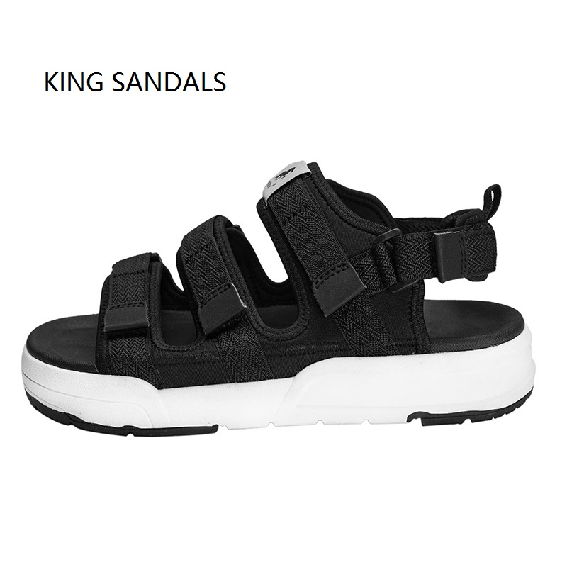 2018 Men PU Sandals Summer Beach Outdoor Sport Black Shoes Hiking Sneakers Quick Drying Shoes Size S M L esdy 613 men s outdoor sports climbing detachable quick drying polyester shirt khaki l