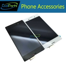 1 unids/lote pantalla LCD y pantalla táctil DigitizerFor Sony Xperia M4 Aqua Color blanco y negro envío gratis
