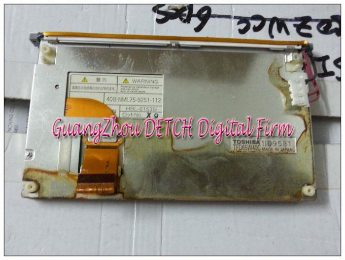 Industrial display LCD screen6.5-inch   TFD65W40C  LCD screen lc150x01 sl01 lc150x01 sl 01 lcd display screens