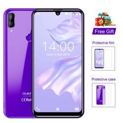 OUKITEL C16 Pro C16pro 4G LTE Smartphones 3 + 32 GB Quad Core MTK6761P 5.71 polegada Do Telefone Móvel Celular 2600mAh Face ID Android 9.0