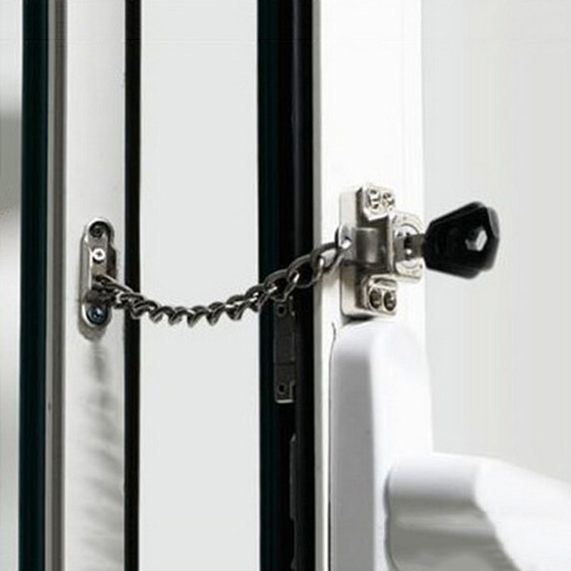 Chain window Lock/Steel window Chain Lock Hardware,Protecting the familyliding doors and windows,children lockChain window Lock/Steel window Chain Lock Hardware,Protecting the familyliding doors and windows,children lock
