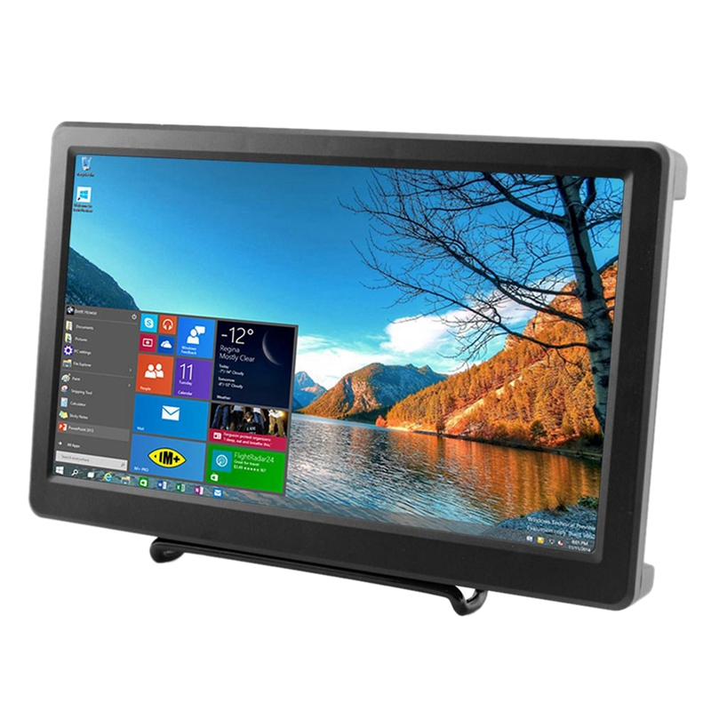10.1 Inch 1920X1080P Resolution Hdmi Vga Display Monitor Ips Ps3 Ps4 Gaming Screen With Build-In Speakers For Raspberry Pi B+/10.1 Inch 1920X1080P Resolution Hdmi Vga Display Monitor Ips Ps3 Ps4 Gaming Screen With Build-In Speakers For Raspberry Pi B+/