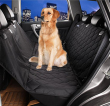 Car Dog Seat Covers Pet Mat Waterproof Non-Slip Backing Padded Hammock Interior Travel Accessories For All Cars J2Y