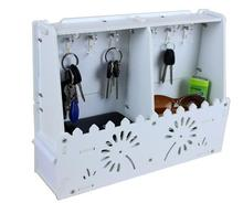 Creative With Drawer Key Box Decorative Hooks Home Entrance Hall hanging Key Storage Rack Can Be Walledl
