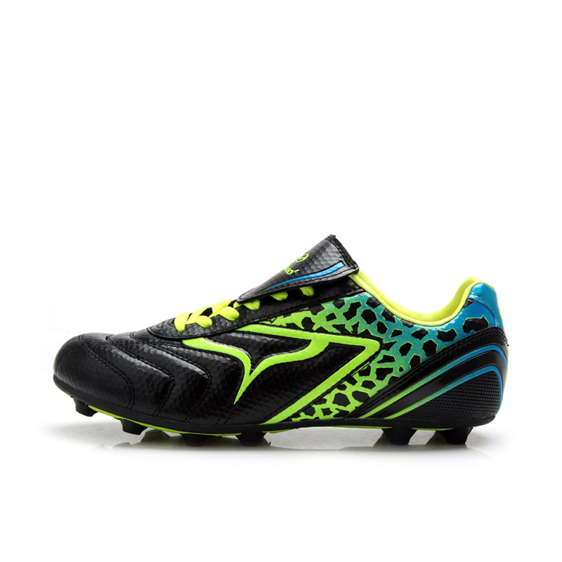 TIEBAO A15524 Outdoor Soccer Cleat Shoes Unisex Soccer Boots Professional Training Football Boots kelme outdoor sport soccer shoes kids synthetic leather antiskid football boots training shoes rubber sole