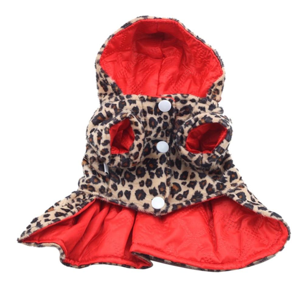 Tvornička cijena! Kućni ljubimci Psi Leopard Pattern Tutu kaput - Kućni ljubimci