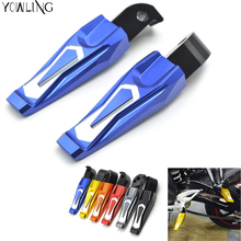 Motorcycle CNC foot pegs dirt bike passenger rear foot pegs motorbike footrest pegs For yamaha MT-07 FZ-07 MT07 FZ07 FZ MT 07 smok motorcycle cnc aluminum alloy adjustable rearsets footrest foot rests for yamaha mt 07 fz 07 mt07 mt 07 fz07 2014 2017