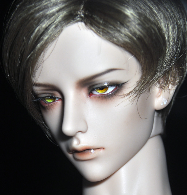 BJD Sd Doll Eyes Glass Sharp Golden [orange Gold] 14mm 16mm Small Iris Doll Accessories