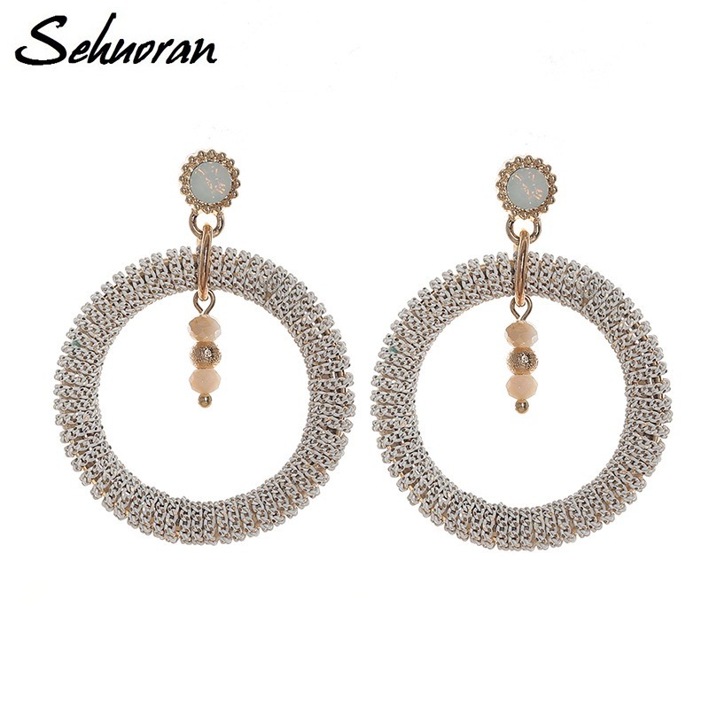 Style 123319 Diamontrigue Jewelry: Aliexpress.com : Buy Sehuoran Long Earrings Of Bohemian