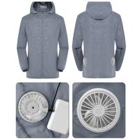 Summer Air conditioning service Intelligent three speed Cooling Clothe Set USB Air Conditioning Suit With Fan UV Protection Wear
