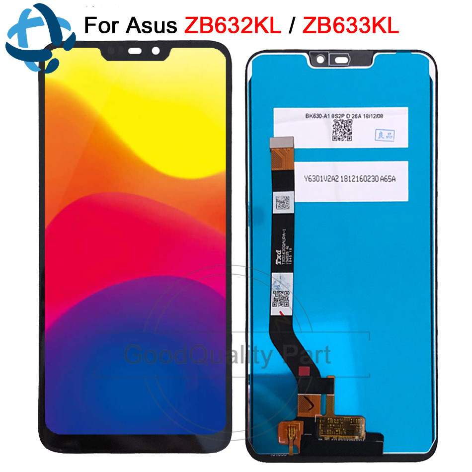 6 26 New For Asus Zenfone Max M2 ZB633KL ZB632KL X01AD LCD Display Screen Touch Panel