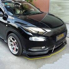 1st для Honda Vezel HR-V- передний бампер, спойлер, комплект кузова, АБС углеродное волокно, аксессуары для стайлинга автомобилей