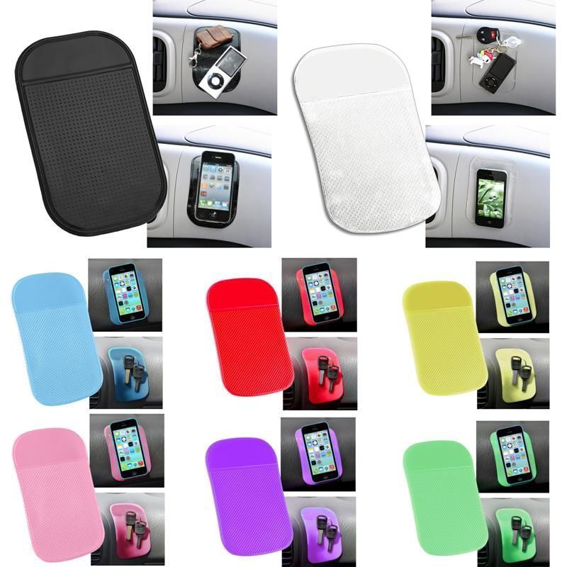 Universal Sticky Pad Anti-Slip Mat Gel <font><b>Dash</b></font> Car <font><b>Mount</b></font> Holder for <font><b>Cell</b></font> <font><b>Phone</b></font> Key