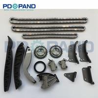 Timing Chain Kit for KIA Sorento 2.5CRDI 2005 For Hyundai H 1 H200 Starex Porter SATELLITE 2006 D4CB Engine distribution