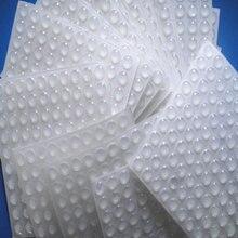 50 шт./компл. Силиконовая накладка самоклеющиеся ножки Бамперы прозрачные полукруглые бамперы Дверь Ящики Шкафа буферные площадки силиконовые ножки