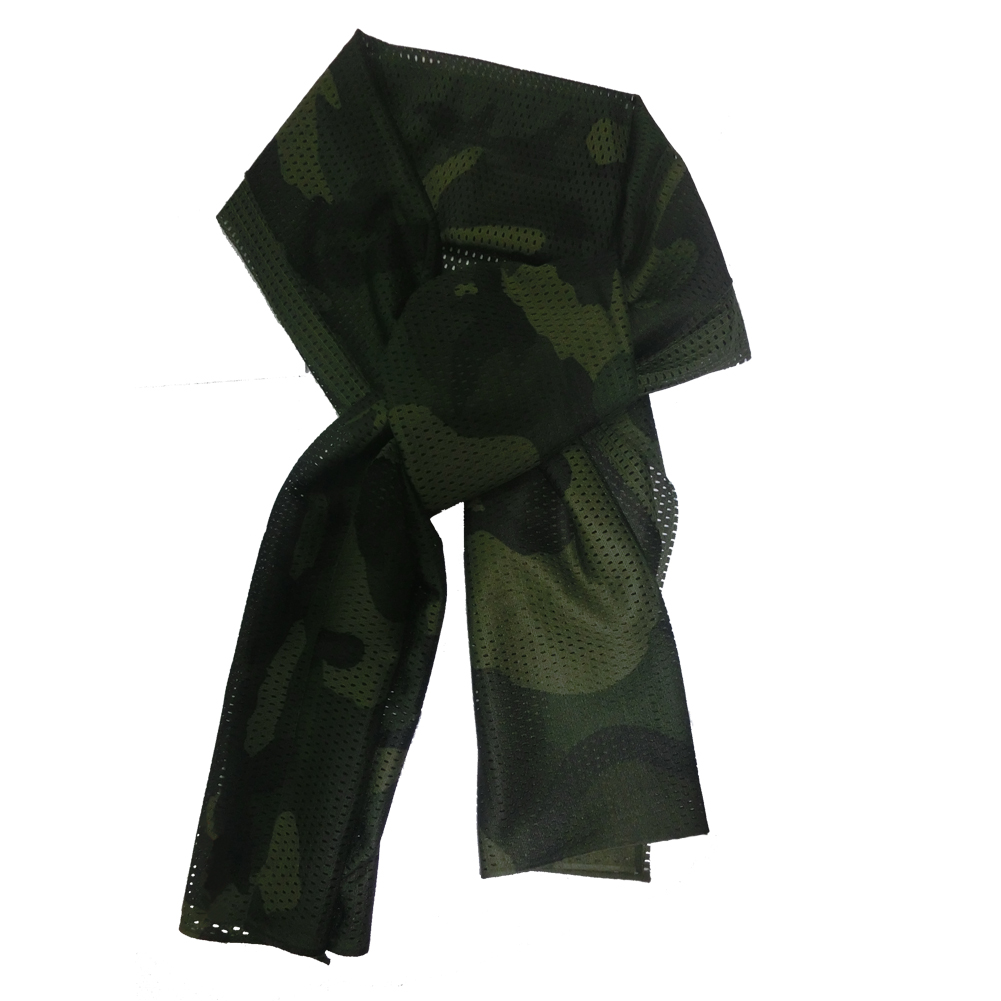Print Scarf Shawl Male-Accessories Fashion Adult Lightweight Men Olive-Green LB Military