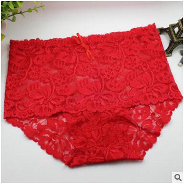 Women Lace Panties Seamless Transparent Underwear