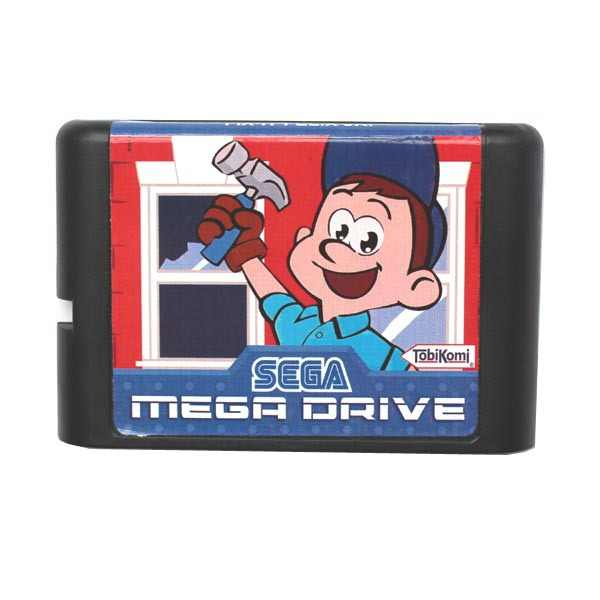 Fix It Felix Jr 16 bit MD Game Card For Sega Mega Drive For Genesis