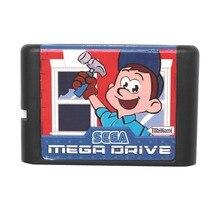 Fix It Felix Jr 16 bits Tarjeta de Juego MD Para Sega Mega Drive Para Génesis