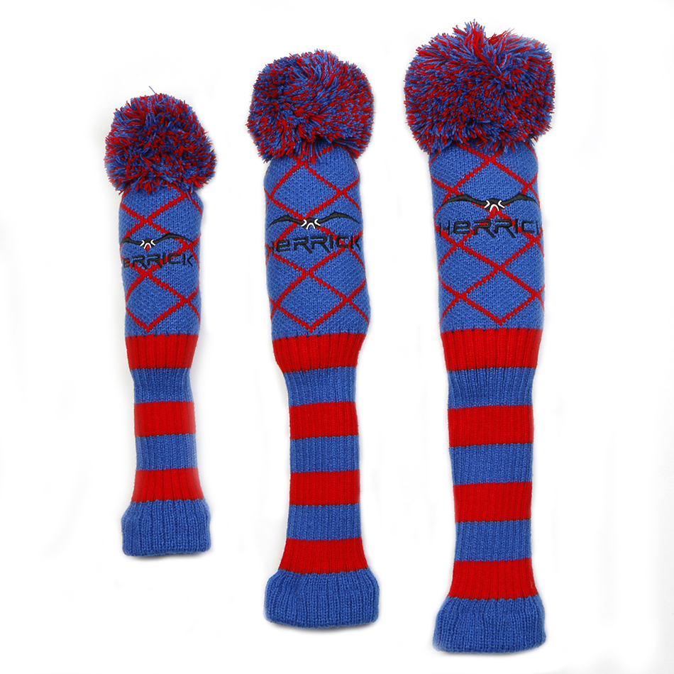 Golf Knit Wool headcover 3pcs/set
