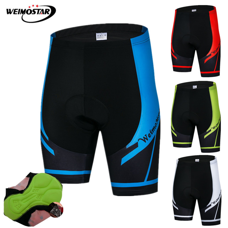 Weimostar Shockproof Cycling Shorts Men 4D Gel Padded Coolmax Bike mtb Shorts Road Downhill Bicycle Shorts bermuda ciclismo
