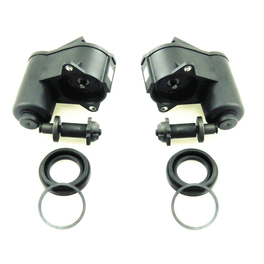 HONGGE 2 satz 12-Pin Hinten Elektronische Handbremse Bremsmotor + Schraube dichtung Für VW CC Tiguan Passat B6 B7 Q3 3C0998281A 32332267