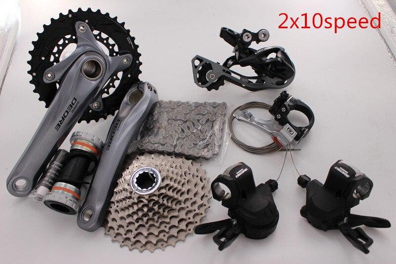 Цена за Shimano Deore M610 MTB Список Групп Группа Набор 10 скорости велосипеда части велосипеда bicicleta лучше