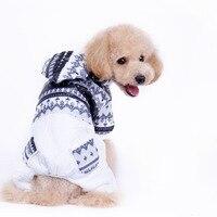 New Pattern Winter Warm Dog Jacket Puppy Dog Coat Fashion Hooded Coat For Pet Dog Small