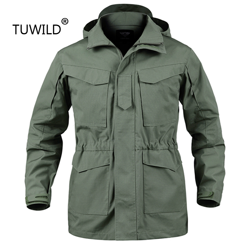 7d338c806 ESDYMen's Jacket US Army Climbing Tactical Clothing UK M65 Fall ...