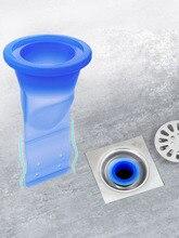 Baño a prueba de olores núcleo de fugas de silicona abajo de la tubería de agua núcleo de drenaje cocina desagüe de cuarto de baño sello de fuga