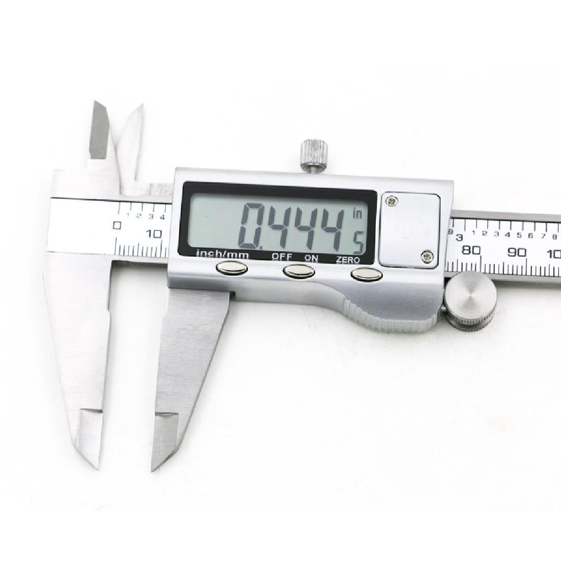 Wysokiej jakości 1szt metalowy 6-calowy 150 mm elektroniczny - Przyrządy pomiarowe - Zdjęcie 5