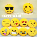 New  Cute Toys 15cm 2pcs Send by Random Emoji Smiley Emoticon Stuffed Toys  Plush Soft Toys Doll Lovely Gift For Kids