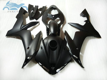 Injection motorcycle fairing kits fit for YAMAHA 2004 2005 2006 YZFR1 04 05 06 YZF R1 black plastic fairings kit NY04