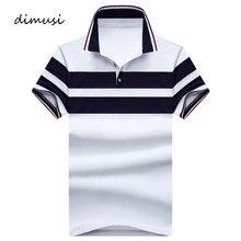 DIMUSI – Polo d'été en coton à manches courtes pour homme, Polo respirant à col rabattu, taille 5XL,TA107