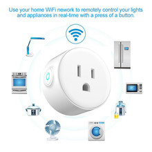 Smart Charger socket for US Type WiFi Socket Remote Control with Alexa,Timing on/off The PowerGoogle Home Electric Mini Socket