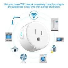 Smart Charger socket voor ONS Type WiFi Socket Afstandsbediening met Alexa, timing aan/uit De PowerGoogle Thuis Elektrische Mini Socket