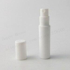 Image 4 - 100pcs/lot Empty 2ml Clear Black White cute plastic mist spray perfume bottle 2CC small promotion sample perfume atomizer
