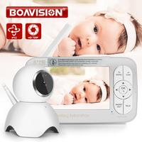 HD 720P Wireless Baby Monitor PTZ 360 Degree 5 Inch LCD Zoomable Baby Camera Night Vision Babysitter Nanny Video Security Camera
