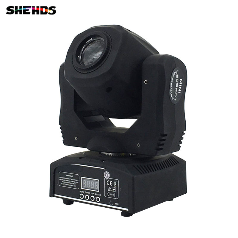 2018 DJ 60w LED Light Spot Moving Head 9/11ch 7 Gobo Pattern Rotation LED Lamp DMX512 Show Stage Light Disco Nightclub led 30w spot moving head lights party disco dj stage lighting 30w mini gobo projector dmx stage effect light led pattern lamps